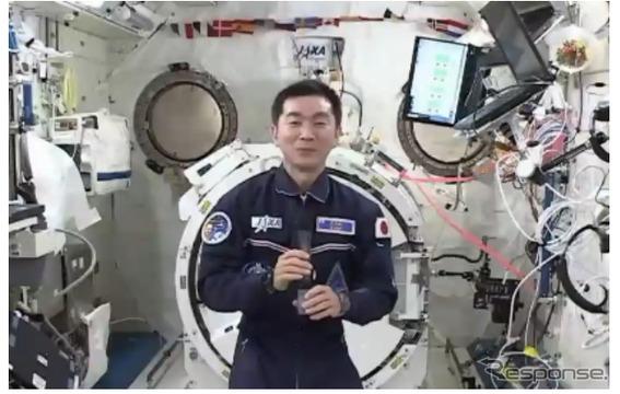 交信イベントでの油井宇宙飛行士