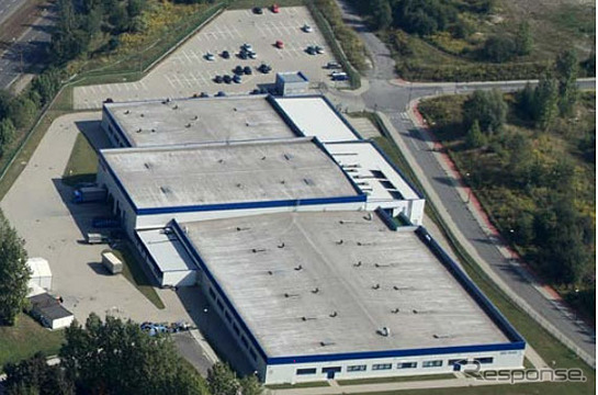 今秋稼働を始める SRK-HP の工場予定地