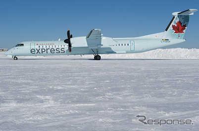 エア・カナダ・エクスプレスのQ400
