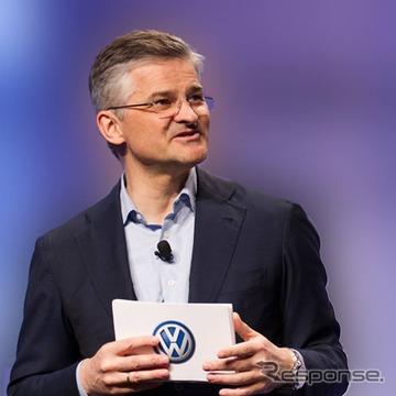 フォルクスワーゲン米国法人のマイケル・ホルン社長兼CEO