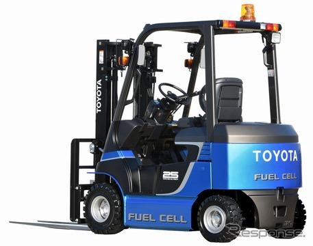 燃料電池フォークリフト(豊田自動織機)