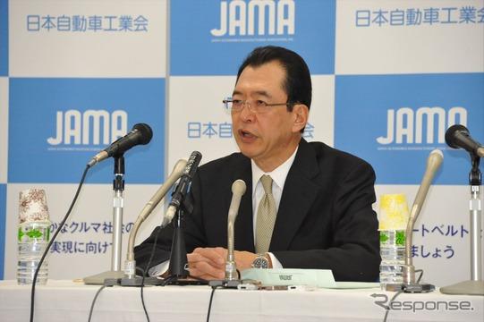 日本自動車工業会・池文彦会長