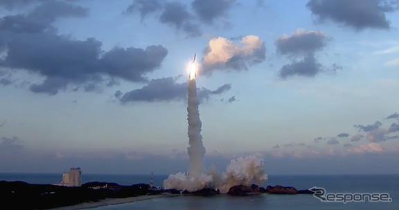 H-IIAロケット30号機(H-IIA・F30)打ち上げ(参考画像)