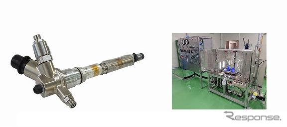 FCV用高圧水素供給バルブと宮城第一製作所に導入した生産設備