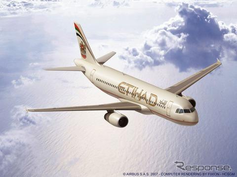 エティハドのエアバスA320
