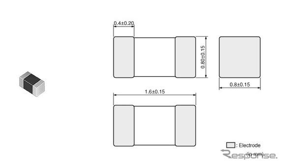 村田製作所 音声ライン向け用途特化型積層タイプノイズフィルタ「NFZ18SM_SZ」シリーズ