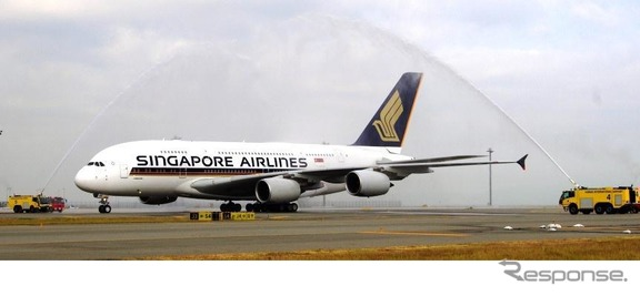 シンガポール航空、A380
