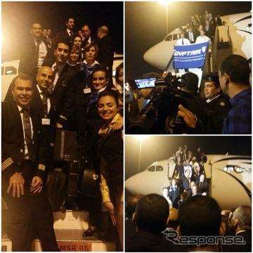 エジプト航空、ハイジャック機の乗客は全員無事