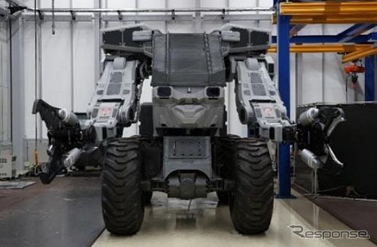 次世代型解体装甲機 スーパーガジラ