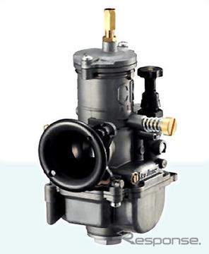 ケーヒン、小排気量4サイクルエンジンのレース専用キャブ発売