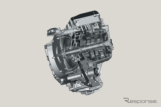 ZF社が開発した9速オートマチック