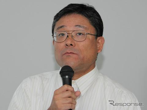 IEEEフェロー兼IEEE Robotics and Automation Society次期副会長で、NPO法人国際レスキューシステム研究機構会長でもある東北大学大学院情報科学研究科教授の田所論氏