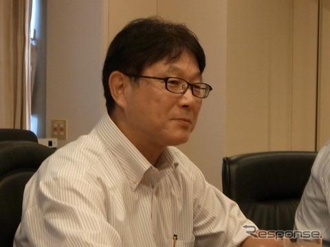 本田技術研究所 山本芳春社長