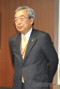 2011年2月に国土交通省に要望に訪れた時の中島尚俊社長