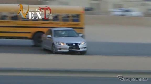サウジアラビアの公道に出没するドリフト族