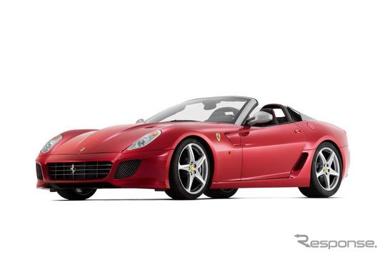 フェラーリが2010年秋、世界限定80台で発売したSAアペルタ