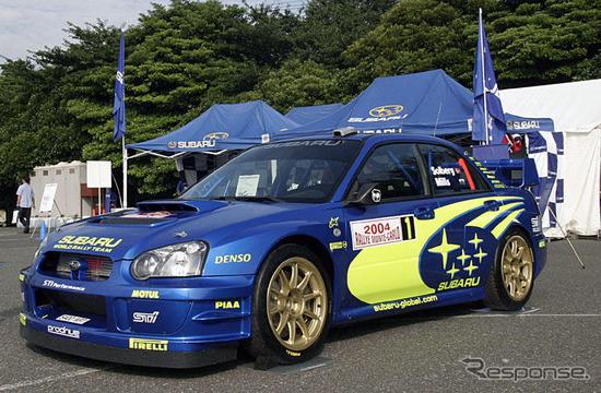 【スバルWRC歴代 写真蔵】2003インプレッサWRカー 04モンテカルロ車