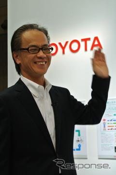 トヨタ自動車・友山茂樹常務役員