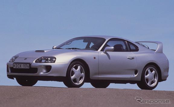 2002年に生産を終了したトヨタスープラ