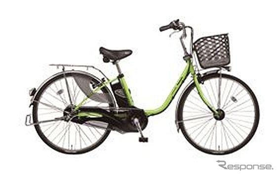 パナソニック、電動アシスト自転車 ビビ・DX
