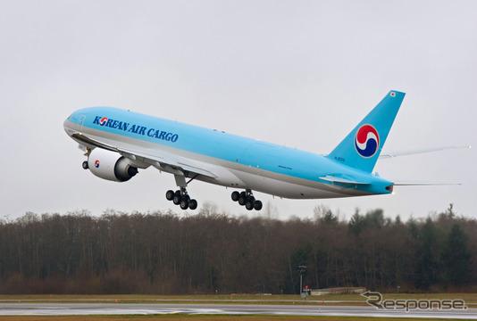 大韓航空のボーイング777