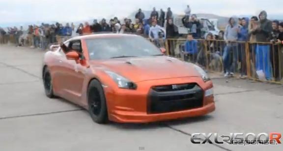 Exelixisモータースポーツがチューニングした日産GT-R