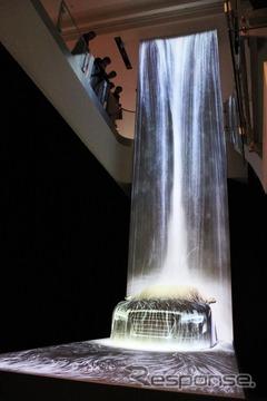 teamLab exhibit at Audi Forum Tokyo