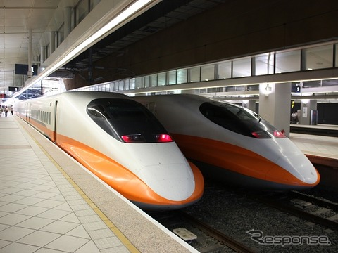 東芝はこのほど、台湾高速鉄道の中間3新駅向けのシステムを単独で受注した。写真は台湾高速鉄道の台北駅。