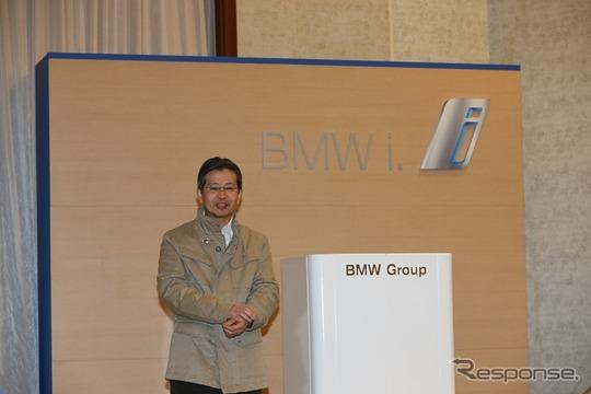 BMWジャパン・広報室長の黒須幹氏