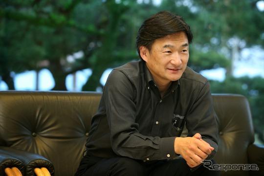 マツダ パワートレイン開発本部長の廣瀬一郎氏