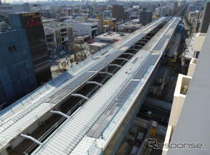 東京メトロは東西線行徳駅に新たに太陽光発電システムを導入。同社は東西線の地上区間各駅に太陽光発電システムを導入する「東西線ソーラー発電所計画」を推進している