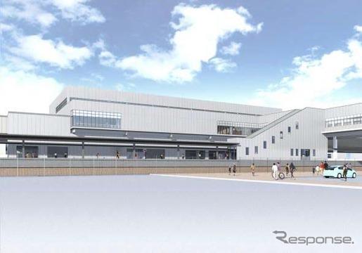 これまで「新函館」と仮称されてきた北海道北斗市内の北海道新幹線駅。このほど、開業時の正式な駅名が「新函館北斗」に決まった。
