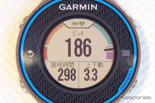 自分の走りを総合的に評価してくれるランニングダイナミクス機能。Garminの独自の評価だが、十分に根拠のあるものだ。