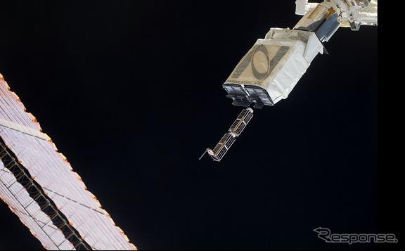 正常に動作する場合は、ナノラックス衛星放出機構から衛星は高度約400kmの軌道に展開される。