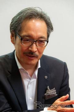 マツダ 藤岡清志常務執行役員(ビジネス戦略・商品・デザイン・コスト革新担当、R&Dリエゾン室長)
