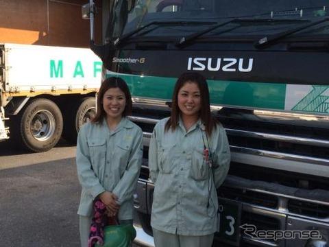 国土交通省、女性トラックドライバーを支援するため「トラガール促進プロジェクトサイト」を開設