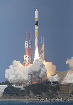 H-IIAロケット25号機打ち上げ(出典:JAXA)