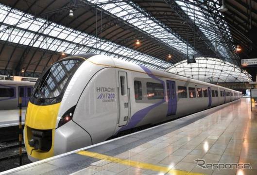 スコットランド向けの車両として初めて優先交渉権を獲得したAT-200のイメージ。日立の海外市場向け標準車両「グローバルA-train」シリーズのうち英国市場向け近郊車両に位置づけられている。