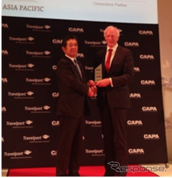 ANA、CAPAから2014年「Asia Pacific Airline of the Year」を受賞
