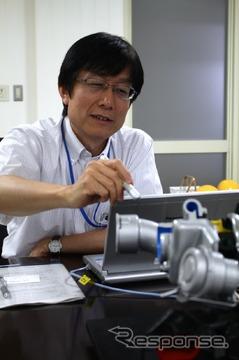 三菱重工 機械・設備ドメイン自動車部品事業部ターボ技術部次長 佐俣 章氏