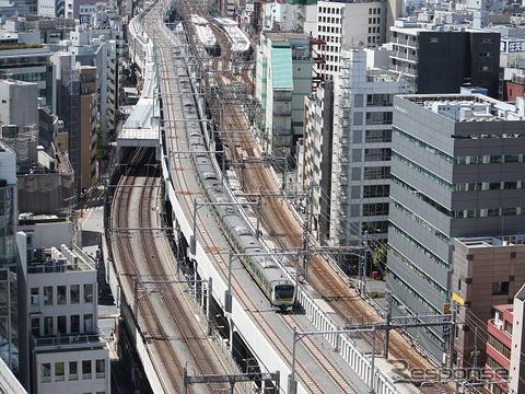 JR東日本は2015年3月のダイヤ改正で、東京~上野間を結ぶ「上野東京ライン」の運転を開始。東海道線と宇都宮線・高崎線の相互直通運転を行うほか、常磐線も品川駅まで乗り入れる。