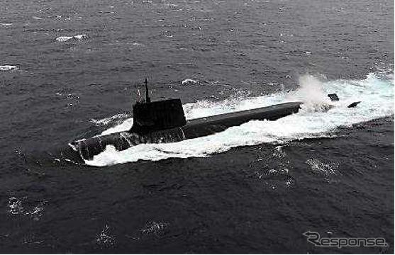 潜水艦「そうりゅう」《防衛省》
