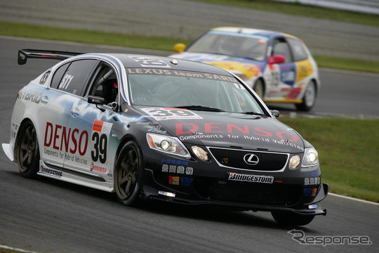 レクサス GS ハイブリッド、24時間耐久レース完走