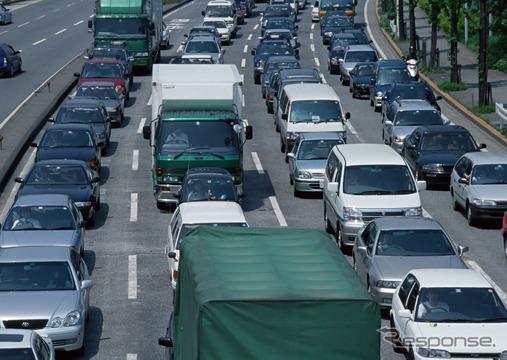 渋滞(参考画像)