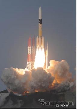 H-IIAロケット29号機打ち上げ(参考画像)