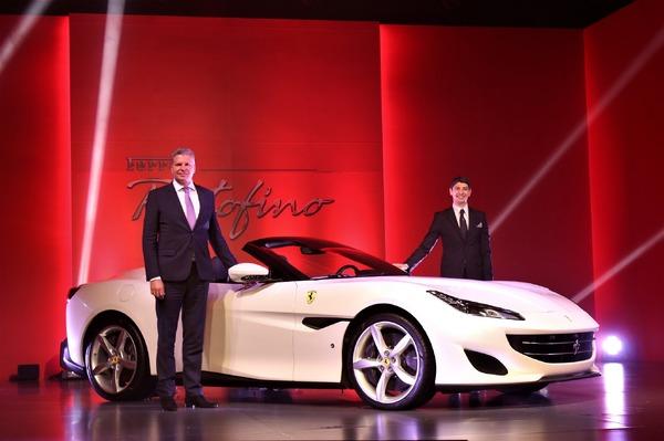 フェラーリ ポルトフィーノ は「ドルチェヴィータ」、人生の楽しさを謳歌できる…極東中東エリア統括CEO[インタビュー]