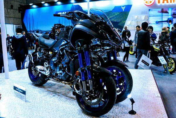 Plan to launch the Yamaha Nike in Japan for three-wheeled vehicles  announced in Milan … Osaka Motorcycle Show 2018 | Response (Response.jp)