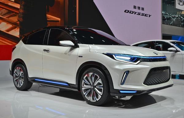 Honda Philosophy Ev Concept Electric Suv On Wesel Beijing Motor Show 2018 Detailbild Answer Response Jp