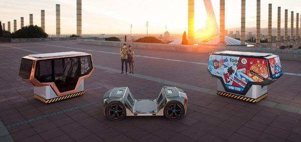 49インチのデジタルコクピット搭載、リンスピードが完全自動運転EVを公開予定…CES 2019
