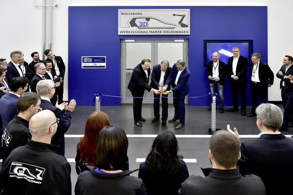 VWグループ、3Dプリントセンター開設…将来は工場の車両生産ラインにも導入へ